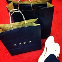 Photo taken at Zara by Bruna C. on 12/15/2012