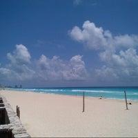Photo taken at Playa Marlin by Luis M. on 5/23/2013