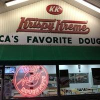 Photo taken at Krispy Kreme Doughnuts by Frank C. on 3/14/2013