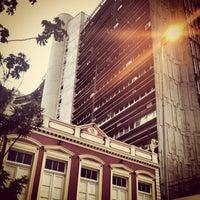 Photo taken at Rua Vidal Ramos by Filipe H. on 3/1/2014