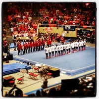 Photo taken at Jon M. Huntsman Center by Jeremy W. on 3/17/2013