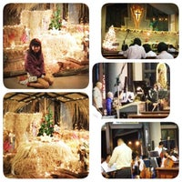 Photo taken at St.Theresa Church by Momeans m. on 12/24/2013