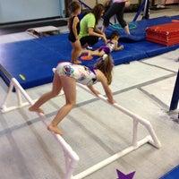 Photo taken at Jean's Gymnastics by Lisa V. on 9/29/2012