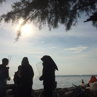 Photo taken at Port Dickson Beach by Syahizah F. on 1/30/2017