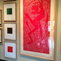 Photo taken at Flatbed Press & Gallery by Richard V. on 11/11/2012
