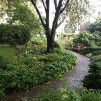 Photo taken at Jefferson Market Garden by Garrett P. on 9/28/2012
