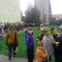 Photo taken at Школа #45 by Рождественский Д. on 8/30/2013