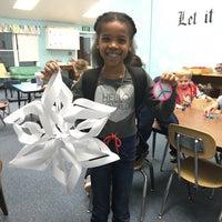 Photo taken at Greenspring Montessori School by Kie E. on 12/14/2015