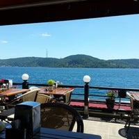 Photo taken at Göze Teras Cafe by Emrah E. on 6/22/2013