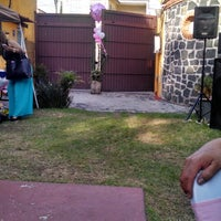 Photo taken at Jardin Sotuta by Laura j. on 5/17/2014