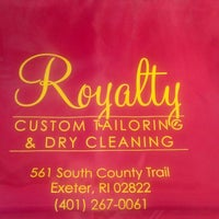 Photo taken at Royalty Custom Tailoring by Scott H. on 2/19/2014