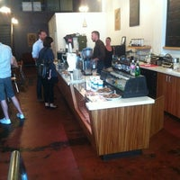 Photo taken at Trabant Coffee and Chai by Rodney D. on 9/14/2012
