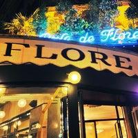 Photo taken at Café de Flore by Sacha Q. on 4/15/2013