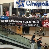 Photo taken at Cinépolis by Jorge C. on 4/13/2013