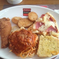 Photo taken at Shakey's by April A. on 11/16/2012