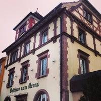 Photo taken at Gasthaus Zum Kranz by Lévon H. on 3/31/2014