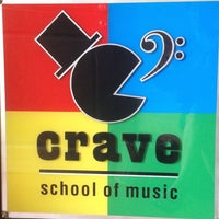 Photo taken at Crave School Of Music by Let J. on 3/29/2014