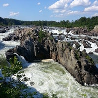 Photo taken at Great Falls Park by Setera on 6/29/2013