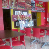 Photo taken at Amazy Chicken and Potatoes Crisp by Ihda M. on 3/18/2013