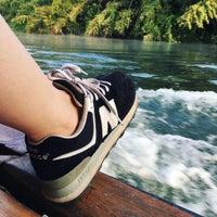 Photo taken at River Kwai Jungle Raft Floating Hotel Kanchanaburi by iJanka K. on 1/25/2017