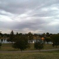Photo taken at Kiwanis Park by Erika E. on 11/9/2012