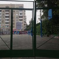 Photo taken at Спортмайданчик СШ №49 by Basileus Z. on 8/27/2014