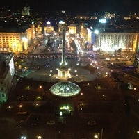 Снимок сделан в Гостиница «Украина» пользователем Basileus Z. 10/9/2012