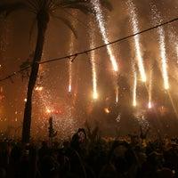 Photo taken at Plaça de la Vila by Carlos C. on 8/2/2013