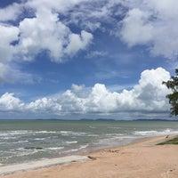 Photo taken at Nam Rin Beach by Paisarn T. on 6/1/2016