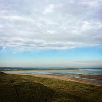 Photo taken at Enniscrone Beach by Niamh B. on 10/11/2015