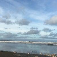 Photo taken at Enniscrone Beach by Niamh B. on 11/22/2015