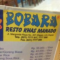 Photo taken at Bobara~Manado food by @_iBudhie on 2/28/2013