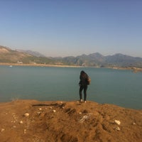 Photo taken at Khanpur Canal View Park by Hira A. on 12/30/2012