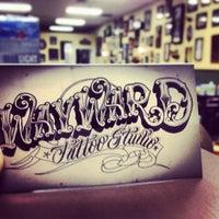 Photo taken at Wayward Tattoo by J. Rogue B. on 10/19/2013