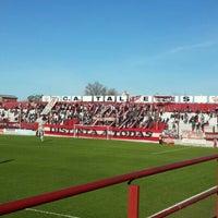 Photo taken at Estadio de Talleres de Remedios de Escalada-Club Atlético Talleres by Carolina T. on 8/4/2015