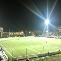Photo taken at NY Cosmos at Shuart Stadium by Mike S. on 10/26/2014