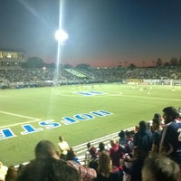 Photo taken at NY Cosmos at Shuart Stadium by Mike S. on 6/15/2014