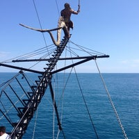 Photo taken at Pirates of Alanya by Mert B. on 5/11/2014