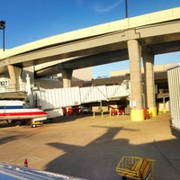 Photo taken at Gate B26 by Marty H. on 5/5/2013