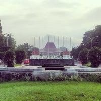 Photo taken at Universitas Gadjah Mada (UGM) by Andri B. on 5/12/2013