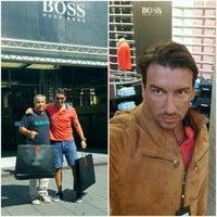 Photo taken at Hugo Boss Store by Aydın K. on 9/2/2016