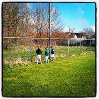 Photo taken at Voetbalvereniging DVV by 'Vincent v. on 4/20/2013