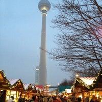 Photo taken at Berliner Weihnachtszeit am Roten Rathaus by Sir Henry on 12/8/2012