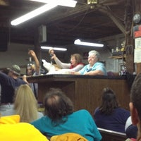 Photo taken at Hayes Auction Barn by Brian W. on 10/21/2012