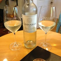 Photo taken at Cinnabar Wine Tasting Room by Shiloh S. on 9/1/2013
