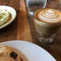 Photo taken at Butcher & Bee by Ros H. on 2/25/2018