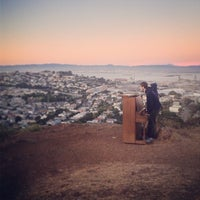 Photo taken at Bernal Heights Park by Ros H. on 6/28/2013