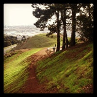 Photo taken at Bernal Heights Park by Ros H. on 11/8/2012