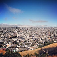 Photo taken at Bernal Heights Park by Ros H. on 6/17/2013
