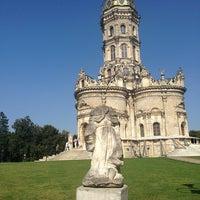 Снимок сделан в Усадьба князей Голицыных в Дубровицах пользователем Katya K. 8/11/2013